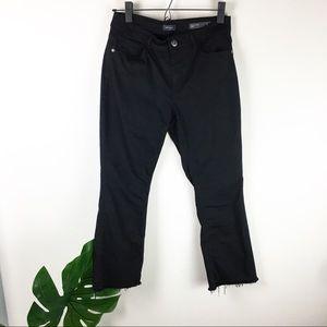 J.Jill   Ankle crop flare jeans